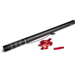 Magic FX Canon à Confetti Electrique 80cm - Rouge Metallique