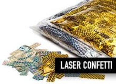 Metallic Laser Slowfall Confetti