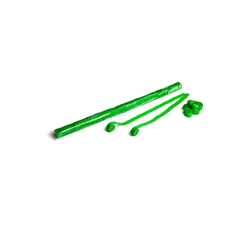 Magic FX Paper Streamer 10m x 1,5cm - Licht Groen
