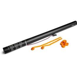 Magic FX Electric Confetti Shooter Streamer 80cm - Oranje