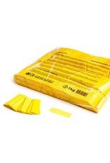 Magic FX Slowfall confetti 55x17 mm - 1kg - Geel