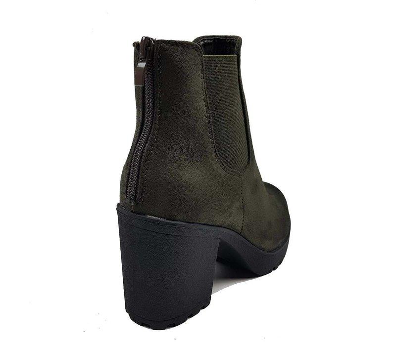 Zip it boots green