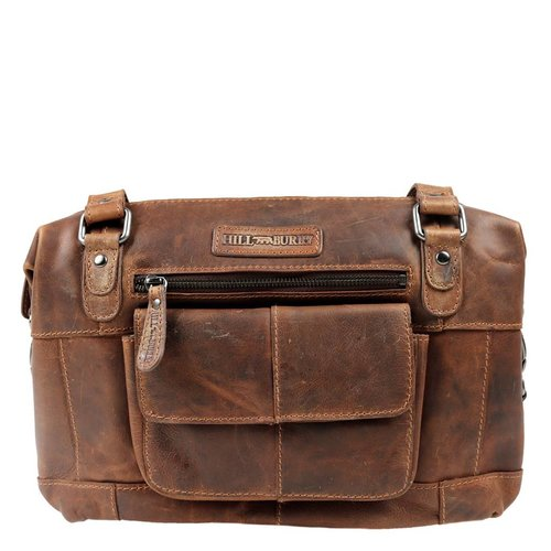 Hill Burry Hill Burry shoulderbag II - dark brown