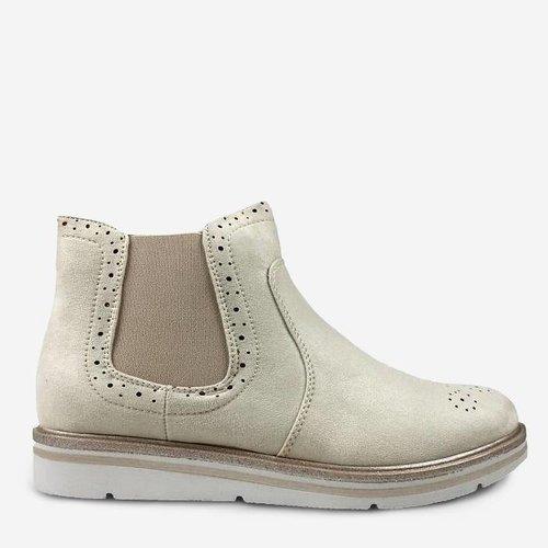 Soft Boot- beige