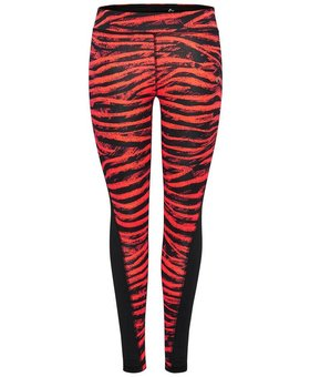 Only Play Only Play sportlegging Zebra zwart/rood
