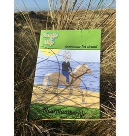 Kaatje&Mup Kleurboekje – Groen, Strand - deel 1
