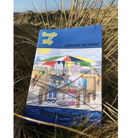 Kaatje&Mup Kleurboekje – Blauw, Strand - deel 1