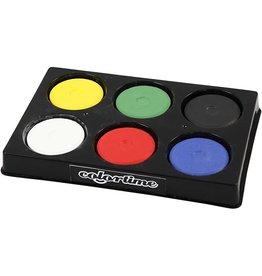 Colortime Colortime - Waterverf - Primaire kleuren