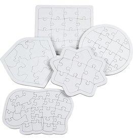 Puzzel verschillende vormen