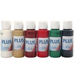 Plus Color Plus Color - Acrylverf - Kerst - 6x60ml
