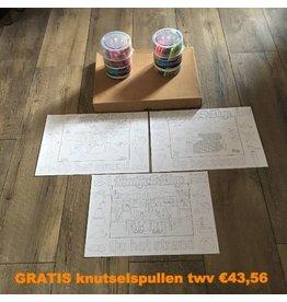 Kaatje&Mup Combi actie: kleurplaat placemats