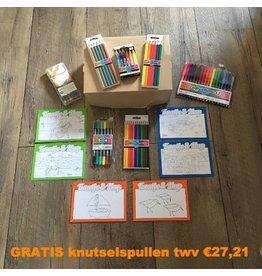 Kaatje&Mup Combi actie: kleurplaat ansichtkaarten