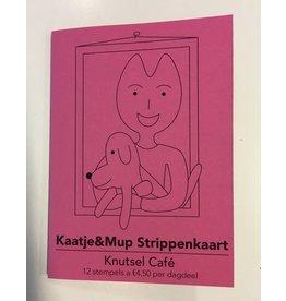 Kaatje&Mup Strippenkaart - Knutsel Cafe