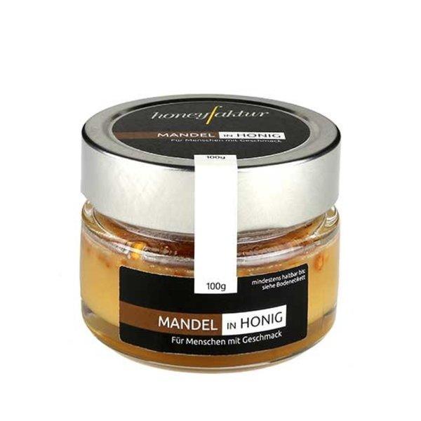 honeyfaktur - Honig aus dem bergischen Lande Mandeln in Honig, 100gr.