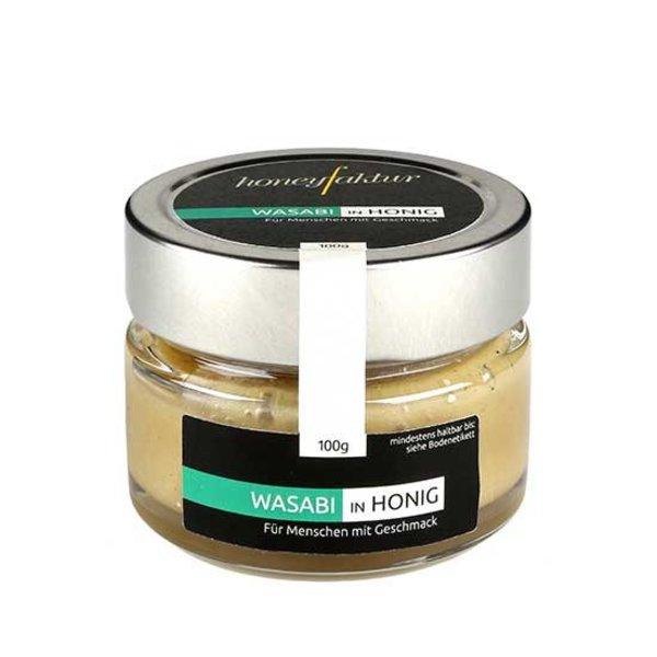 honeyfaktur - Honig aus dem bergischen Lande Wasabi in Honig, 100gr.
