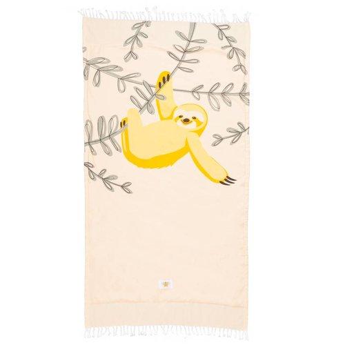 Mycha Ibiza Kikoy strandlaken luiaard geel