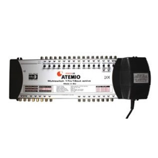 Atemio Multiswitch Premium-Line 17/16 voor 4 satellieten op 16 ontvangers
