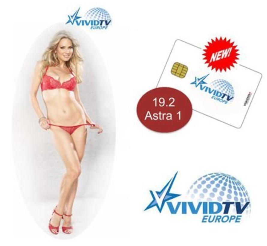 Hustler / Dorcel TV / Dorcel XXX / Vivid jaarkaart Viaccess