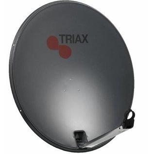 Triax TDS 54cm schotel kleur RAL 7016 antraciet