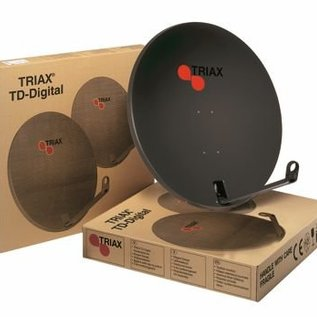 Triax TDS 64cm schotel kleur RAL 7016 antraciet