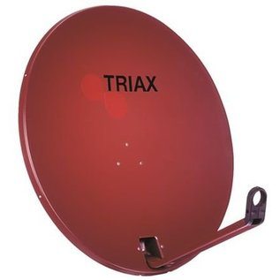 Triax TD 64cm EUROLINE kleur RAL 8012 rood-bruin