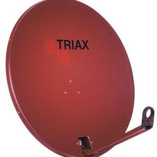 Triax TD 78cm EUROLINE kleur RAL 8012 rood-bruin