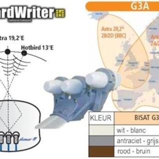 Cahors Cahors upgrade houder Astra 1-2 en Hotbird voor Bisatellite G2