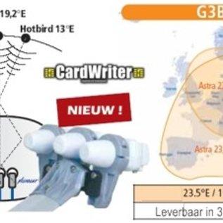 Cahors Cahors upgrade houder Astra 1-3 en Hotbird voor Bisatellite G2