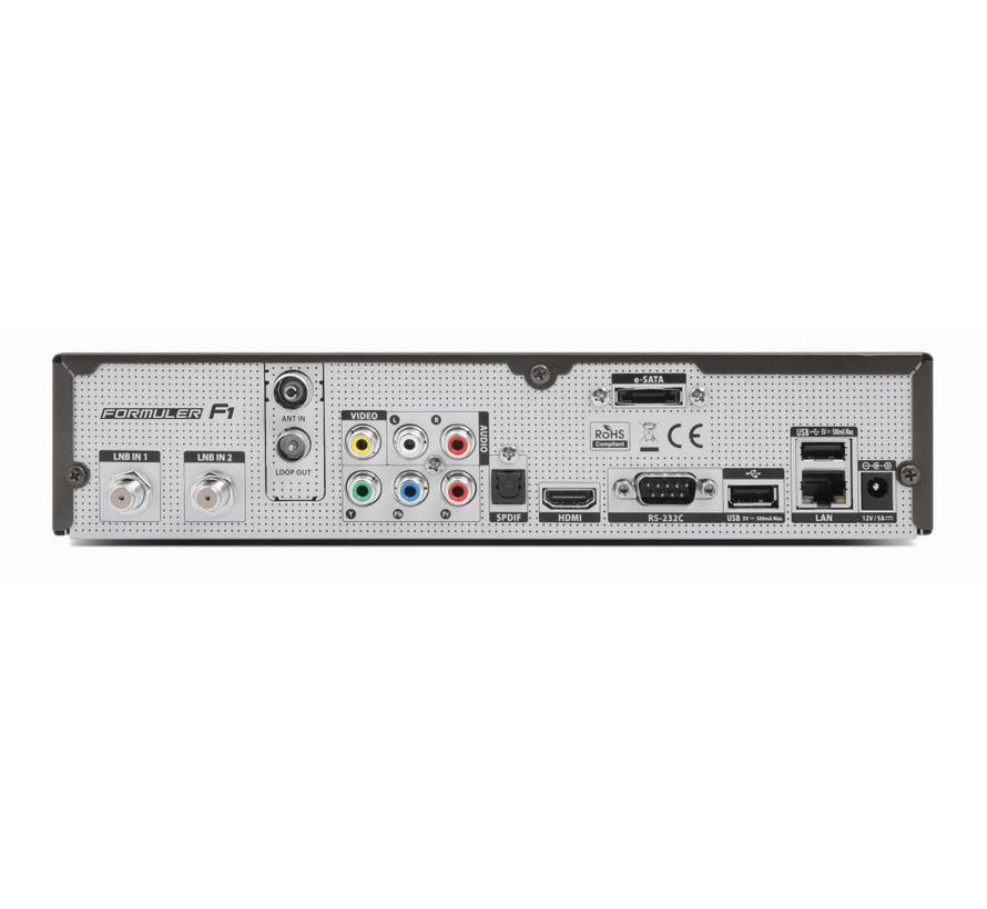 Formuler F1 TWIN USB PVR 2x DVB-S2