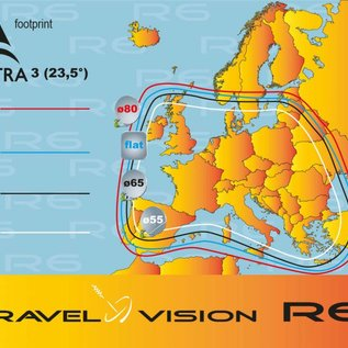 Travel Vision R6 - 80 cm single versie