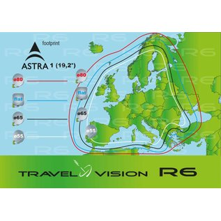 Travel Vision Travel Vision R6 - 55cm single versie
