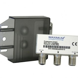 Maximum Combiner satelliet en kabel TV