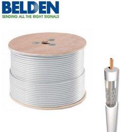 Belden Coaxkabel H125 PVC kleur wit