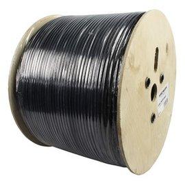 Hirschmann KOKA 799 coaxkabel kleur zwart