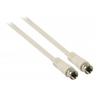 10m Coaxkabel op maat en gemonteerde F connectors