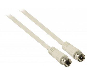 20m Coaxkabel op maat en gemonteerde F connectors