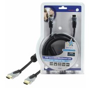 HDMI kabel HQ High Speed met ethernet 3.0 m