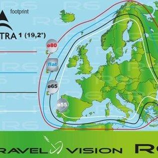 Travel Vision Travel Vision SmartFind 65 SMC incl. Duo Lnb en Statief
