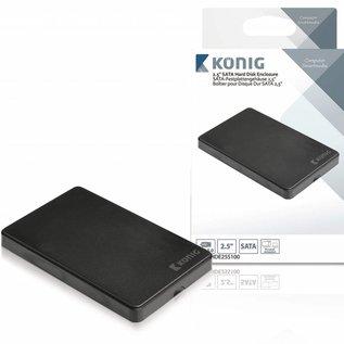 "Konig Konig 2.5"" SATA harde schijf-behuizing USB 3.0"