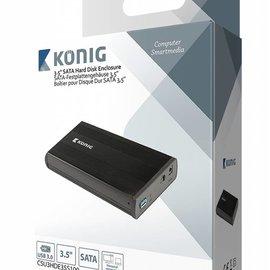 "Konig 3.5"" SATA harde schijf-behuizing USB 3.0"