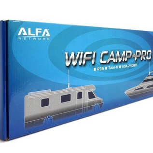Alfa Network Camp-Pro WiFi en HotSpot Set Tube N Antenne + R36 Router V2 - 2017