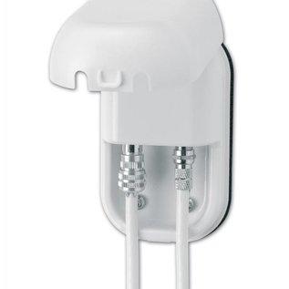 Maxview B2008 TWIN WCD 1x IEC en 1x F-connector kleur Wit