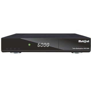 Mutant HD1500 Twin DVB-S2 USB PVR Ready H.265/HEVC