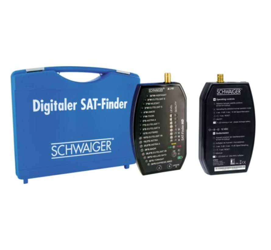 Schwaiger Koffer voor SF 9002 HD Ultimate satfinder PLUS