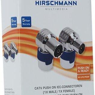 Hirschmann KOSWI 5/ KOKWI 5 Push On IEC set (Kabel Keur)