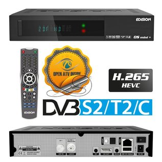 Edision OS Mini+ PLUS DVB-S2/T2/C