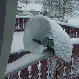 LNB Regen-Sneeuw beschermkap 25cm