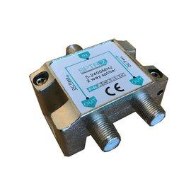 Fracarro SPTR2 signaal splitter 2 voudig 5-2400Mhz