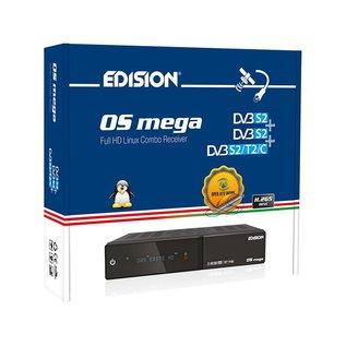 Edision OS Mega DVB-S2 + DVB-S2 + DVB-S2/T2/C
