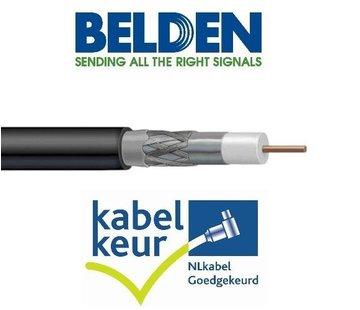 Belden Belden H125D00 coax DuoBond zwart